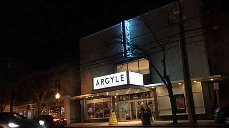 The newly renovated historic Argyle Theatre on Main