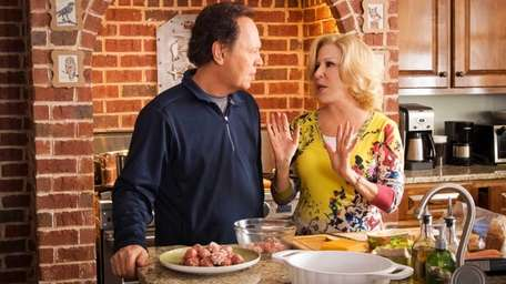 Billy Crystal, left, as Artie and Bette Midler