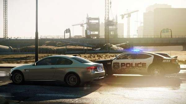 A screenshot from Need for Speed: Most Wanted