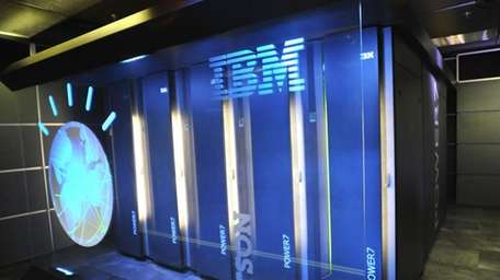 A view of IBM's supercomputer, named Watson. (Jan.