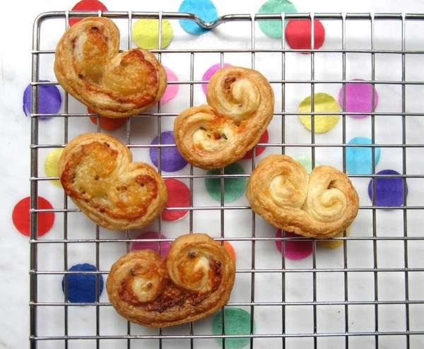 You can use store-bought puff pastry to make