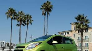 The 2013 Chevrolet Spark comes equipped with MyLink