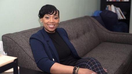 Katiuscia Gray, a Valley Stream social worker, has