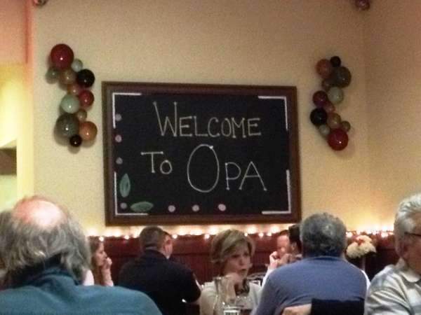 Opa Grille is a new Greek restaurant in