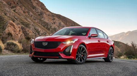 The 2020 Cadillac CT5-V brings midsize dynamics to