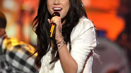 Carly Rae Jepsen performs