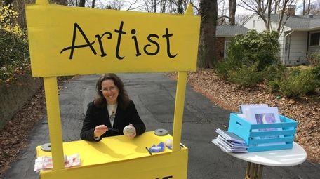 "Artist Helen Murdock-Prep created a ""drive-by museum"" on"