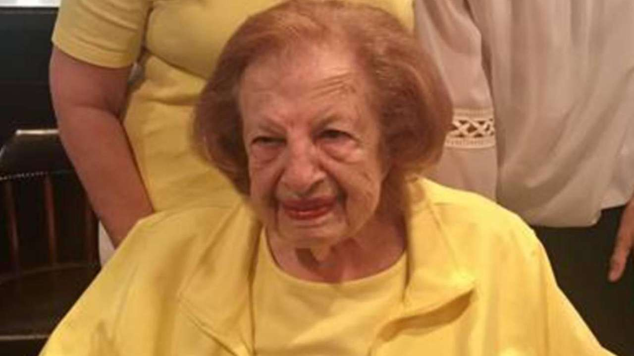 Madelynn Schwarz's 93-year-old mother, Roberta Landers, is at