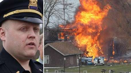 Police say a man who killed two firefighters,