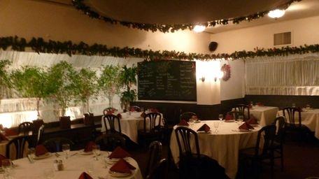 The dining room of Matteo's in Huntington. (Nov.