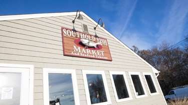 The Southold Fish Market in Southold on Monday,