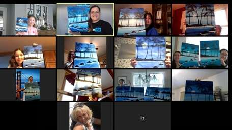Yaymaker Long Island's classes are now on Zoom.