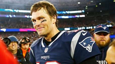 Patriots quarterback Tom Brady after defeating the Jacksonville