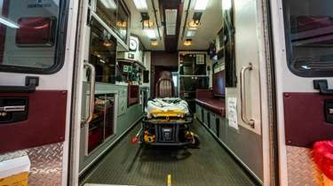 Fire Department ambulances, which go through a sanitary