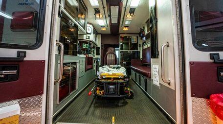 Fire Department ambulances, which go through a sanitary