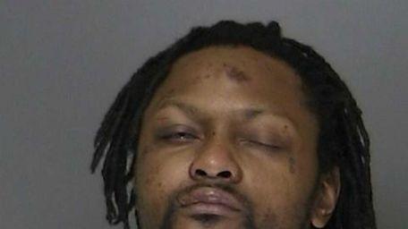 Aston Barth, 33, of Central Islip, was arraigned