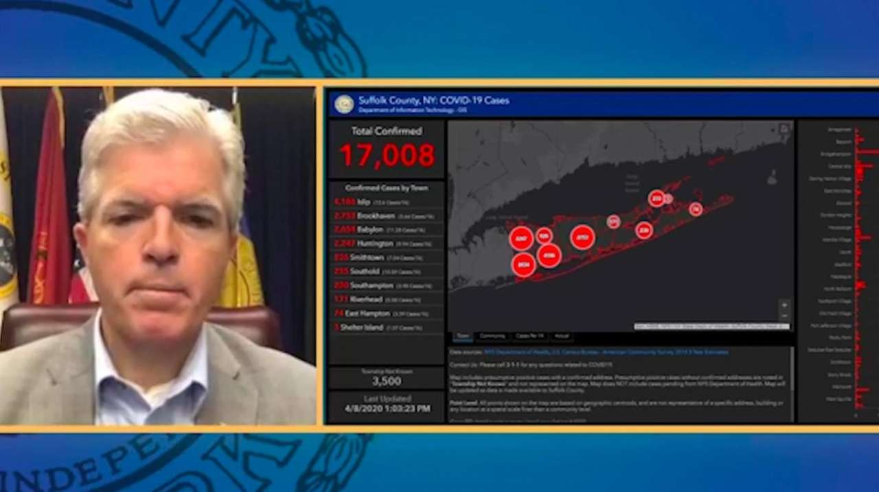Suffolk County Executive Steve Bellone on Wednesday said