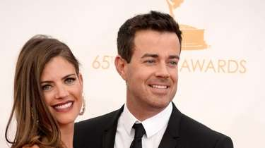 Carson Daly his wife, Siri Pinter, attend the