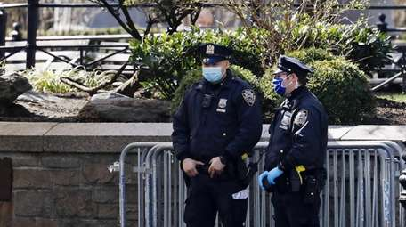 Since March 30, 276 NYPD officers who tested