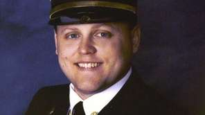 Firefighter Lt. Michael Chiapperini was killed when William