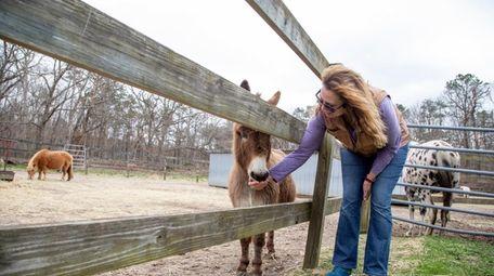 Melinda Novak, owner of Long Island Game Farm