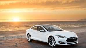 The Tesla Model S was the breakout car