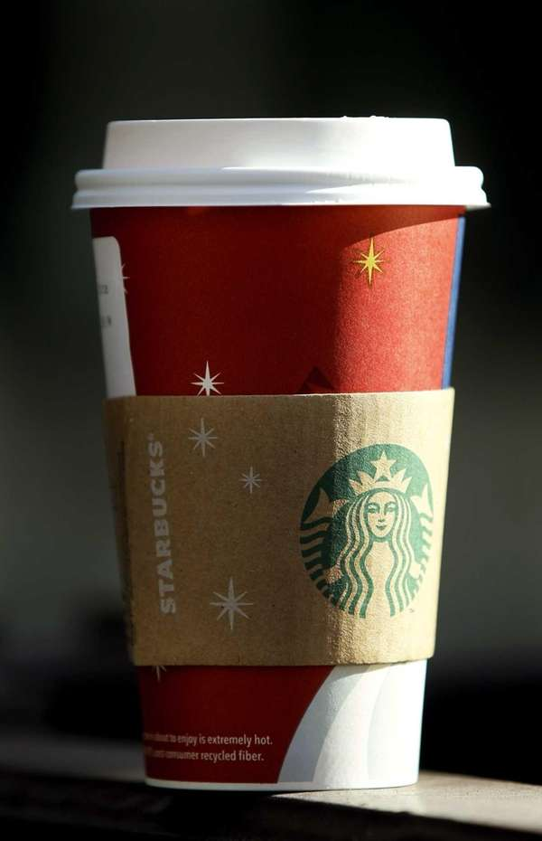 A file photo of a Starbucks beverage cup.