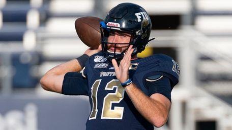 FIU quarterback James Morgan  during an NCAA