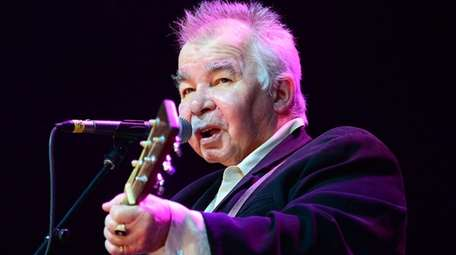 Musician John Prine during a 2014 performance in