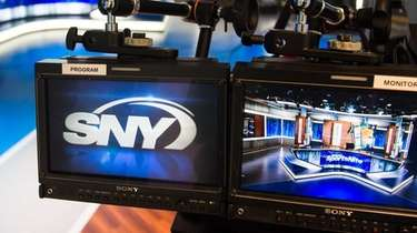 View of Studio 31 at SNY's new studios,