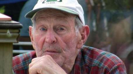 A three-time Olympian, Bruce MacDonald, 92, also coached