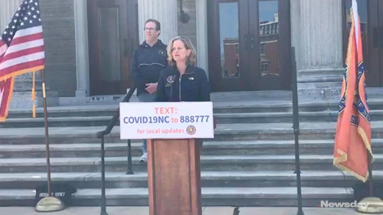 On Saturday, Nassau County Executive Laura Curran said