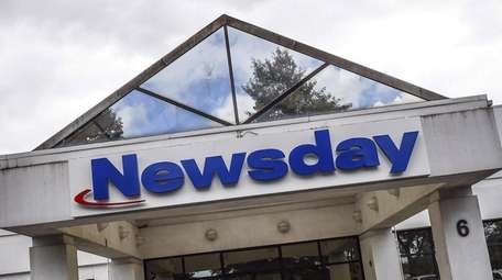 Newsday's headquarters in Melville.
