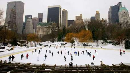 Wollman Skating Rink in Central Park. (Getty Images)