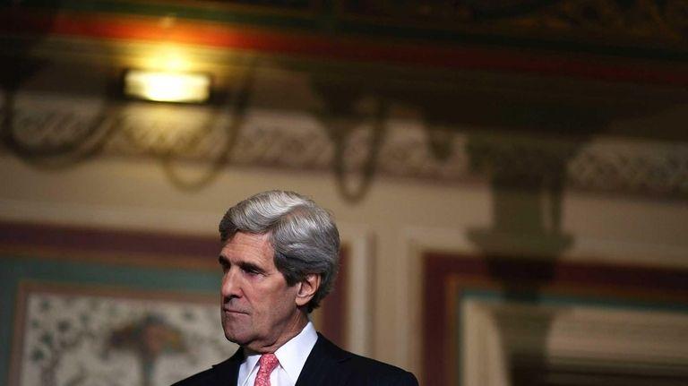 Sen. John Kerry.