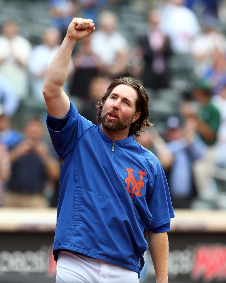 6. R.A. DICKEY WINS CY YOUNG Even in