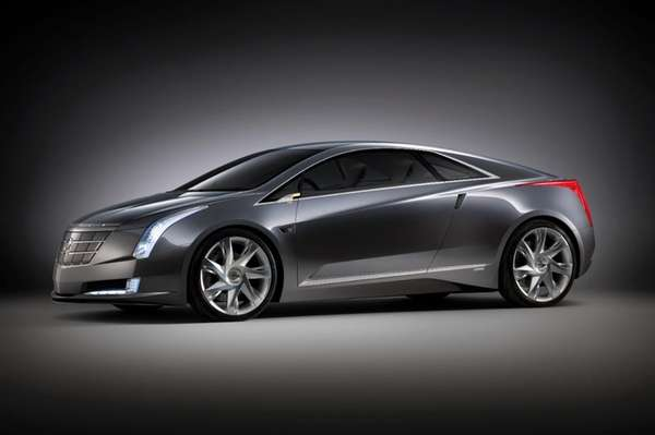 The Cadillac Converj, unveiled at the 2009 Detroit