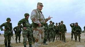 U.S. Army Gen. H. Norman Schwarzkopf is shown