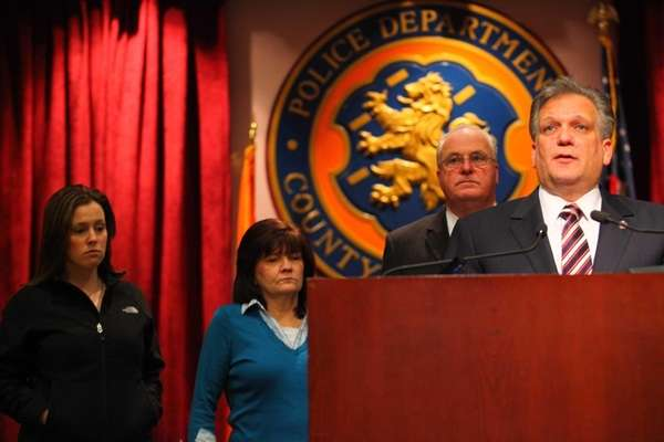 Nassau County Executive Edward Mangano with Nassau County