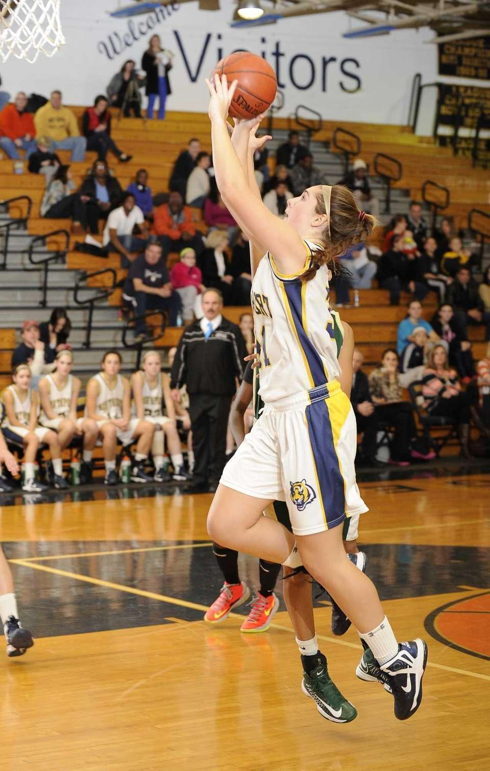 Northport forward Dorrien Van Dyke shoots a jump
