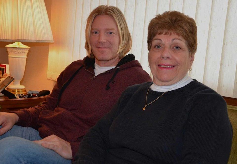 Rick Spellman, 39, of Manhasset, with Margaret Savarese,