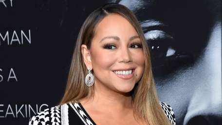 Mariah Carey attends the premiere of Tyler