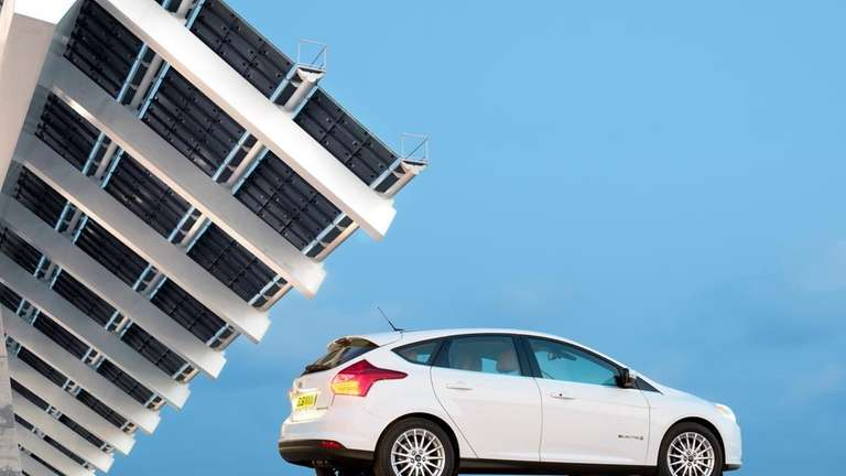 Unlike most electric vehicles, the 2013 Ford Focus