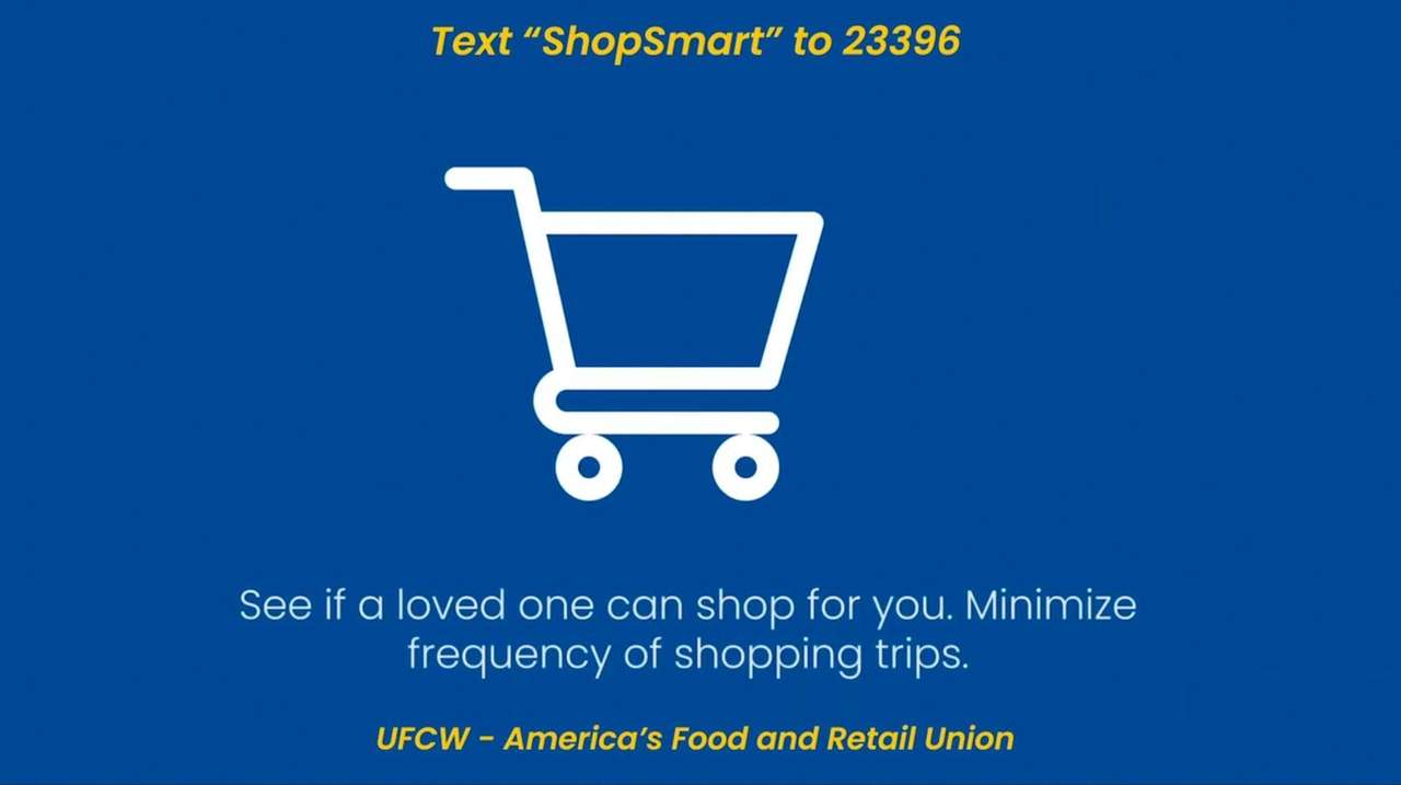 The UFCW released a national commercial, which includes