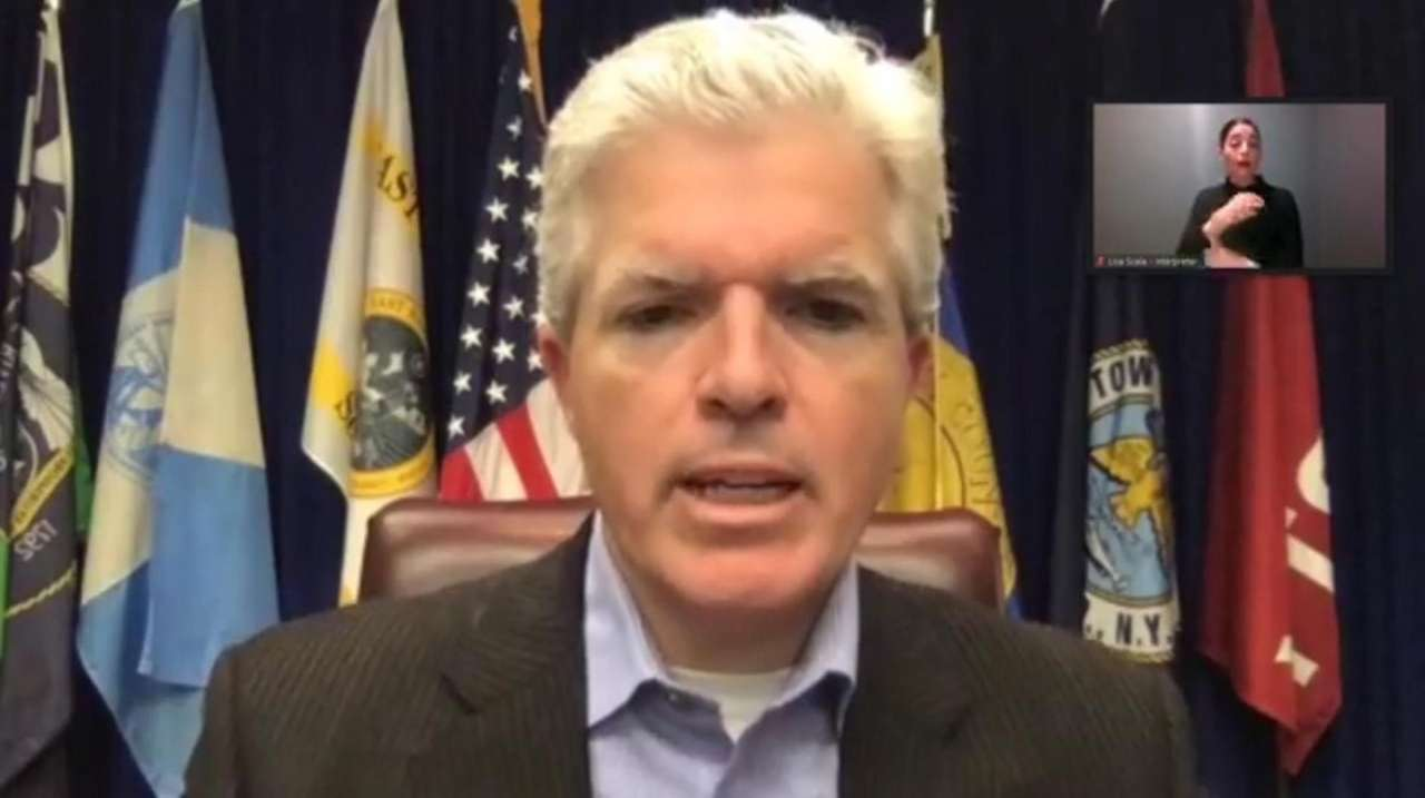 Suffolk County Executive Steve Bellone on Monday said