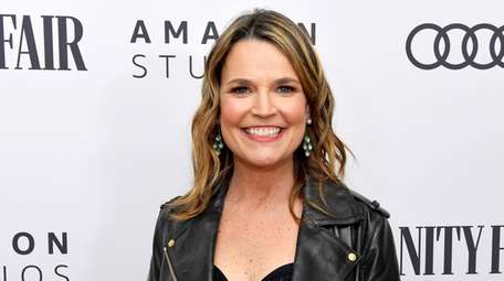 Savannah Guthrie injured her eye while playing with
