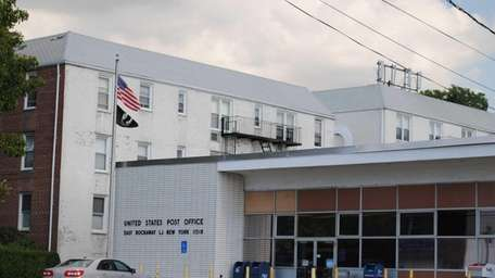 The East Rockaway Post Office is located at