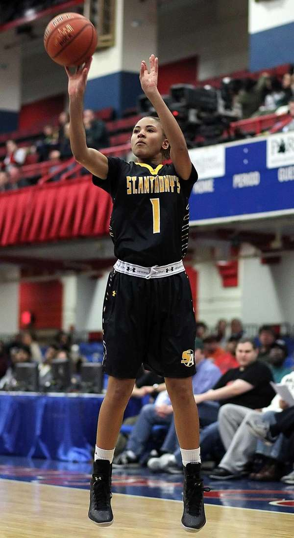 St. Anthony's forward Chastity Taylor