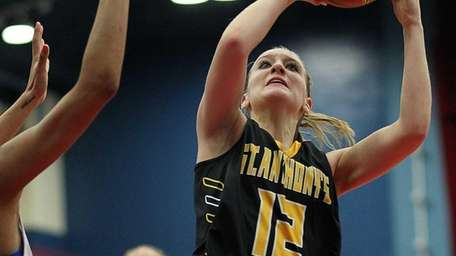 St. Anthony's Rebecca Musgrove takes the shot against
