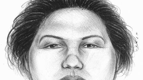 The NYPD released this sketch of the woman